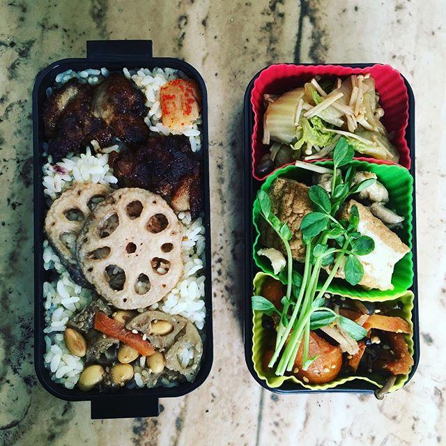 今日のお弁当♪#sudach #蘇大地 #田舎 #田舎暮らし #田舎あるある #お弁当 #お弁当の日 #お弁当作り #お弁当作り楽しもう部 (Instagram)