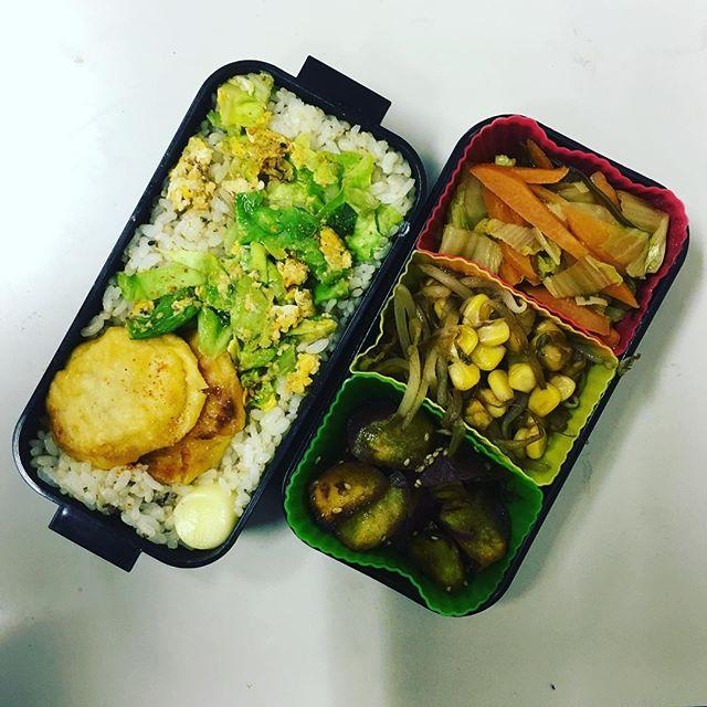 今日のお弁当♪#sudach #蘇大地 #田舎暮らし #田舎 #お弁当 #お弁当作り楽しもう部 #お弁当の日 #お弁当部 #お弁当作り (Instagram)