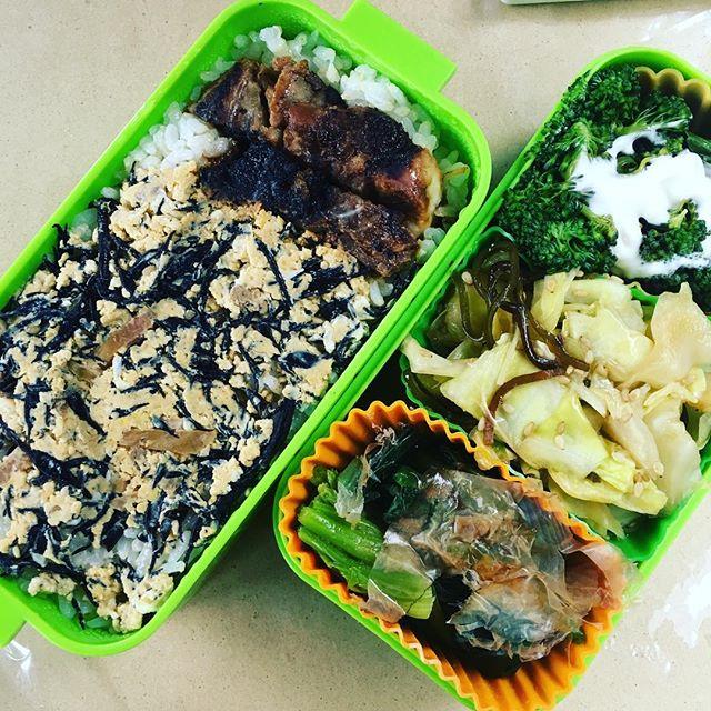 今日のお弁当♪#sudach #蘇大地 #お弁当 #お弁当記録 #お弁当日記 #お弁当作り #お弁当作り楽しもう部 (Instagram)