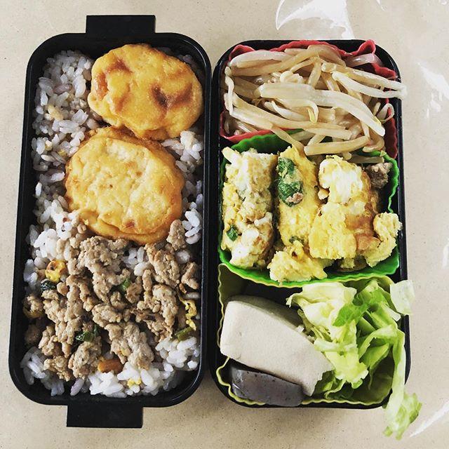 今日のお弁当♪#sudach #蘇大地 #お弁当 #お弁当記録 #お弁当作り楽しもう部 #お弁当の記録 #お弁当日記 #お弁当生活(Instagram)