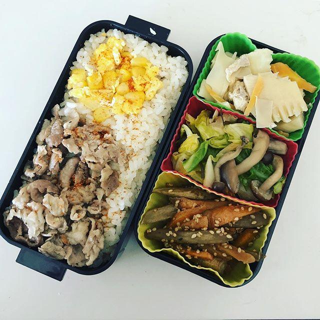 今日のお弁当♪#sudach #蘇大地 #お弁当作り楽しもう部 #お弁当 #お弁当記録 #お弁当日記 #お弁当作り(Instagram)