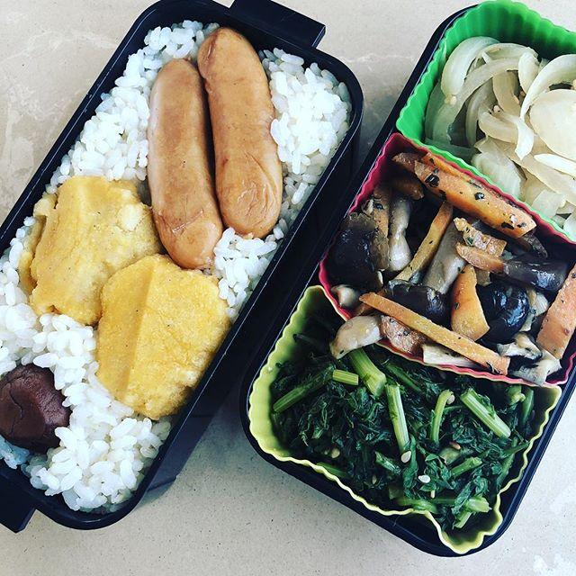 今日のお弁当♪#sudach #蘇大地 #お弁当 #お弁当記録 #お弁当作り楽しもう部 #お弁当生活 #お弁当日記(Instagram)