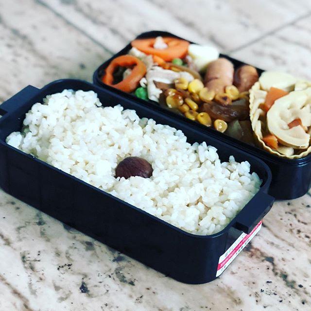 今日のお弁当♪#お弁当 #お弁当記録 #お弁当作り楽しもう部 #お弁当生活(Instagram)